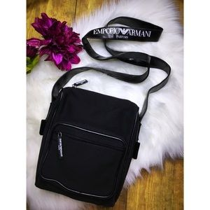 Emporio Armani crossbody messenger bag